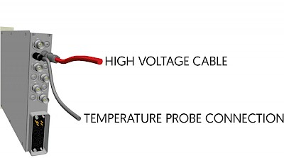 Temperature Connection for Voltage Correction