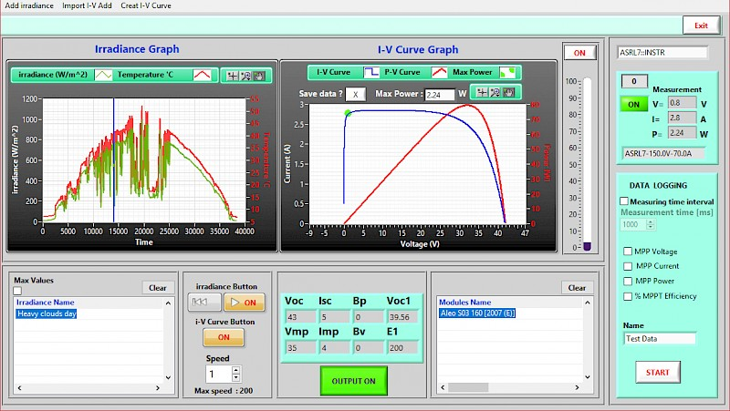 LAB-SMS PV Simulation Software
