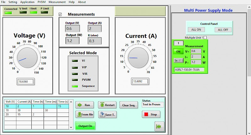 LAB-SMS Operating Software